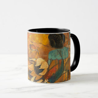 Cliff Dwellers Painting Mug