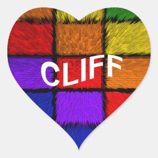 CLIFF HEART STICKER