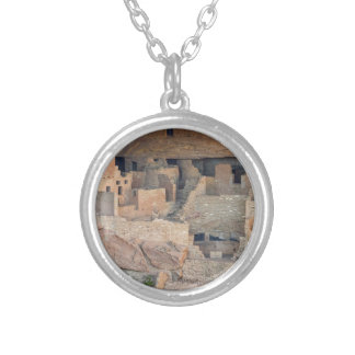 Cliff Homes Silver Plated Necklace