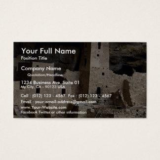 Cliff Palace, Mesa Verde, Colorado, USA Business Card