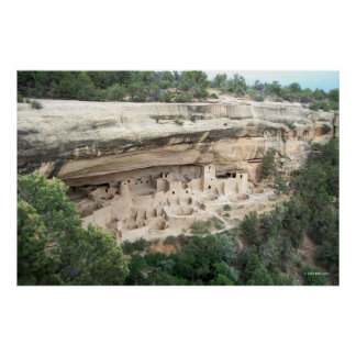 Cliff Palace Wide View Poster