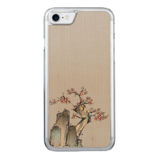 Cliff Sketch Carved iPhone 8/7 Case