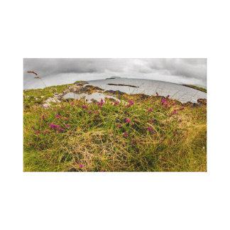 """""""Cliff top flower, Ireland"""" wall art"""