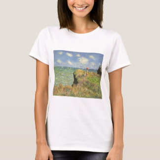 Cliff Walk at Pourville by Claude Monet T-Shirt