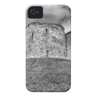 Clifford's Tower in York  historical building iPhone 4 Cases