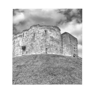 Clifford's Tower in York  historical building Notepad