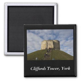 Cliffords Tower, York Magnet