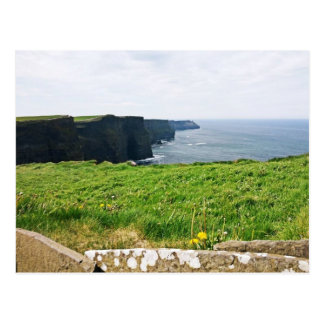 Cliffs in Ireland Postcard