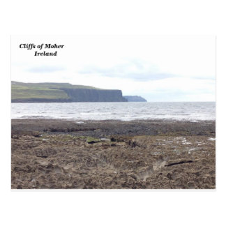 Cliffs of Moher, Co. Clare, Ireland. Postcard