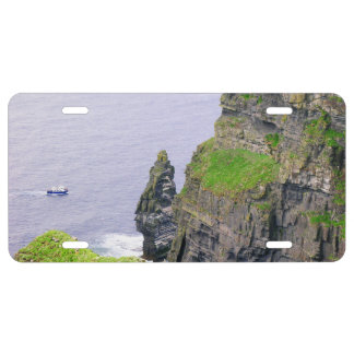 Cliffs of Moher in Ireland | License Plate