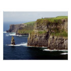 Cliffs of Moher Ireland Poster