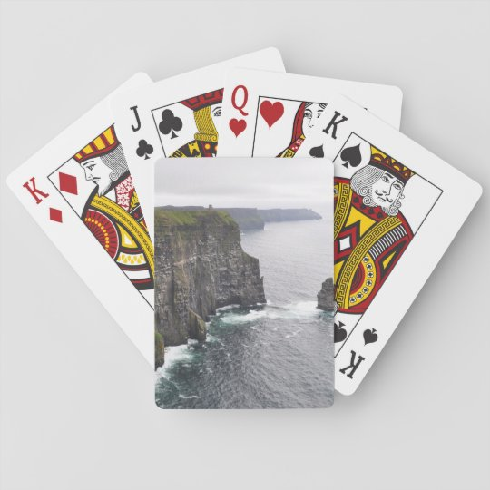 Cliffs of Moher playing cards
