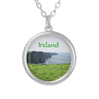 Cliffs of Moher Silver Plated Necklace