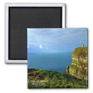 Cliffs of Moher Square Magnet