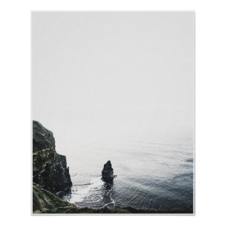 Cliffs of Moher Travel Photo Poster