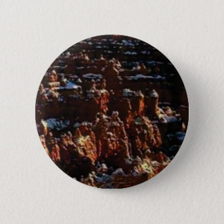 cliffs of the red rock of snow 2 inch round button