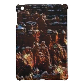 cliffs of the red rock of snow case for the iPad mini