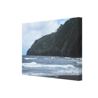 Cliffs of Waipio Valley Canvas Print
