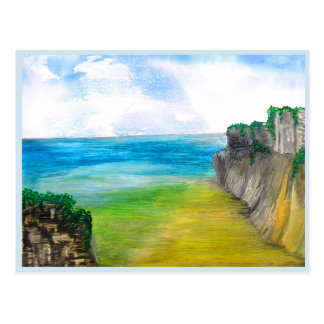 Cliffs Postcard