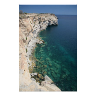 Cliffs - South point of Malta 1 poster