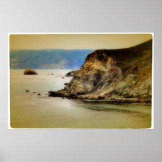 Cliffside Poster