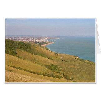 Clifftop View Card
