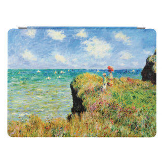 Clifftop Walk at Pourville by Claude Monet iPad Pro Cover