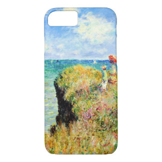 Clifftop Walk at Pourville by Claude Monet iPhone 8/7 Case