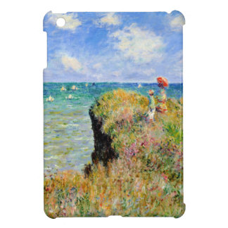Clifftop Walk at Pourville - Claude Monet iPad Mini Cover