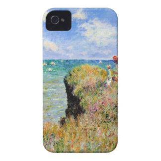 Clifftop Walk at Pourville - Claude Monet iPhone 4 Case