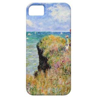 Clifftop Walk at Pourville - Claude Monet iPhone 5 Cover
