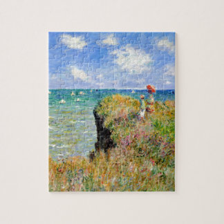 Clifftop Walk at Pourville - Claude Monet Jigsaw Puzzle