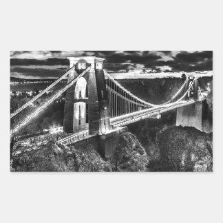 Clifton Bridge BW Sticker