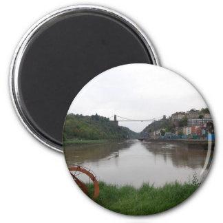 Clifton Suspension Bridge 2 Inch Round Magnet
