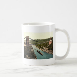 Clifton suspension bridge from the north east clif coffee mug