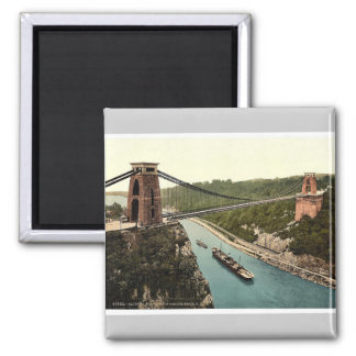 Clifton suspension bridge from the north east clif square magnet