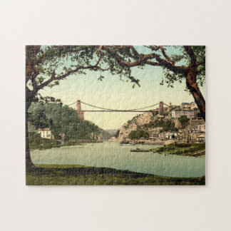 Clifton Suspension Bridge I, Bristol, England Jigsaw Puzzle