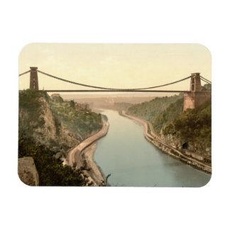 Clifton Suspension Bridge II, Bristol, England Rectangular Photo Magnet