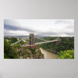 Clifton Suspension Bridge Posters