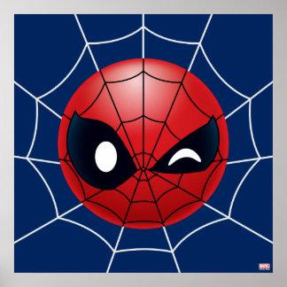 Cligner de l'oeil Spider-Man Emoji