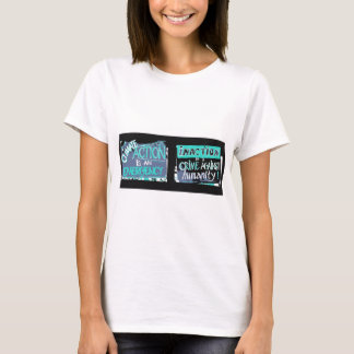 Climate action is an emergency; inaction a crime T-Shirt