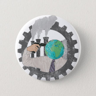 Climate CHANGE 2 Inch Round Button