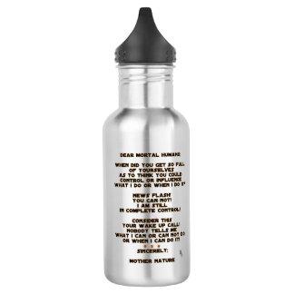 Climate Change 532 Ml Water Bottle