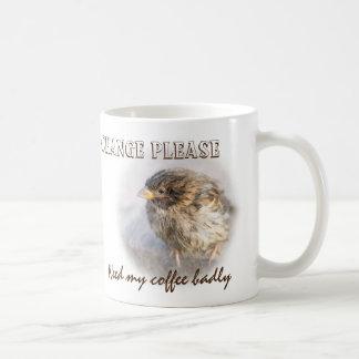 Climate change awareness coffee mug