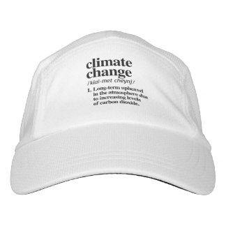 Climate Change Definition - Long Term Upheavel in  Hat