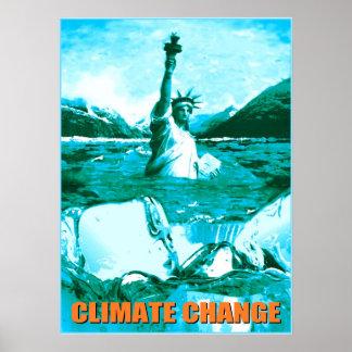 Climate Change - Environmental Poster Print