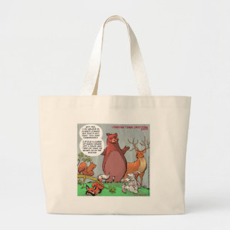 Climate Change From A Bear's Perspective Jumbo Tote Bag