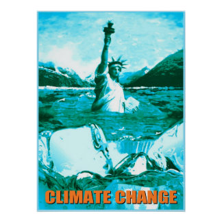 Climate Change Global Warming Poster