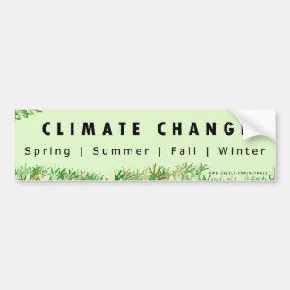 Climate Change Hoax Bumper Sticker