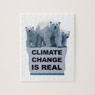 CLIMATE CHANGE IS REAL JIGSAW PUZZLE